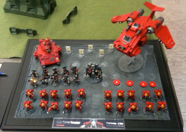 One of many Blood Angel armies